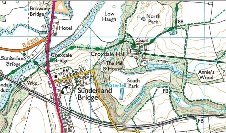 Croxdale Estate - south of Durham City off A167