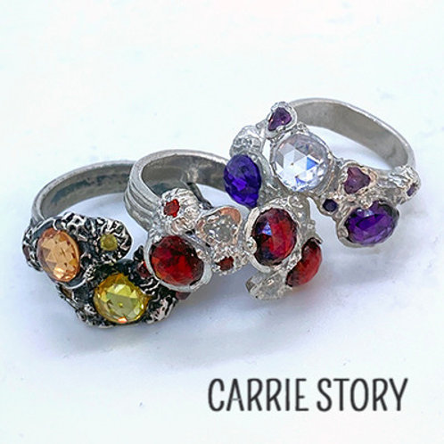Stone Setting in Metal Clay with Carrie Story