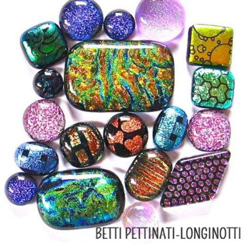 Kiln Fun! Creating Glass Cabochons with Betti Pettinati-Longinotti