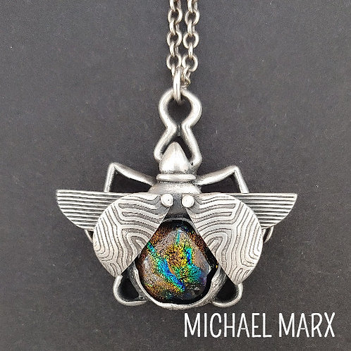 A Beautiful Marriage: Metal Clay and Glass with Michael Marx