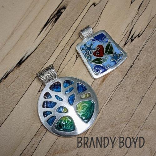 Enamel on Silver Clay with Brandy Boyd