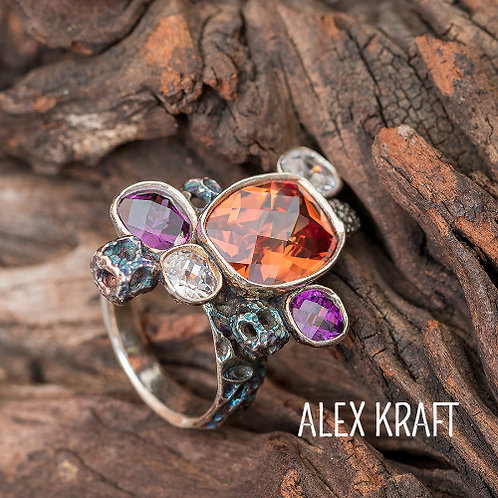 Stone Setting in Metal Clay with Alex Kraft