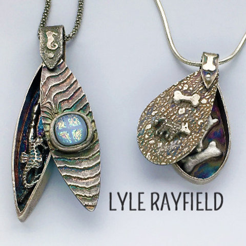 Hidden Treasure Shadowbox Pendant with Lyle Rayfield