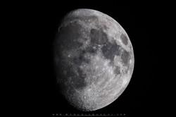 Luna con el 150-600 en la 7d