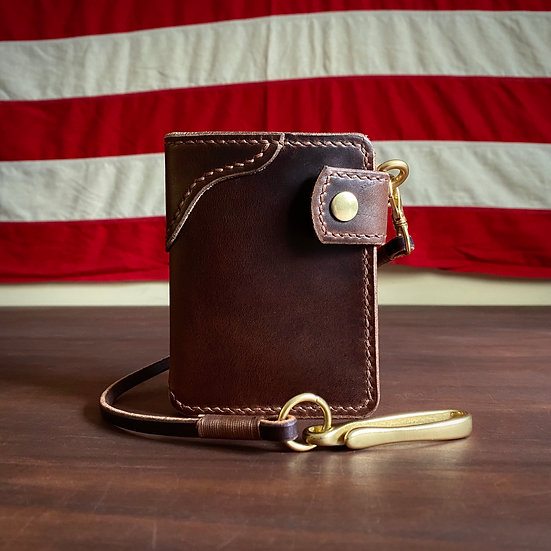 THE CHILSON TYPE II WALLET - Brown