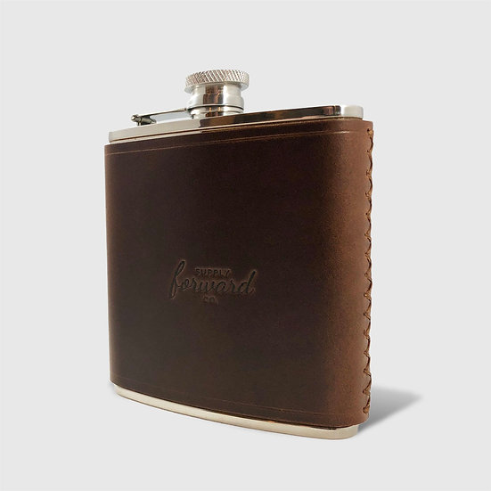 THE HIP FLASK - Brown