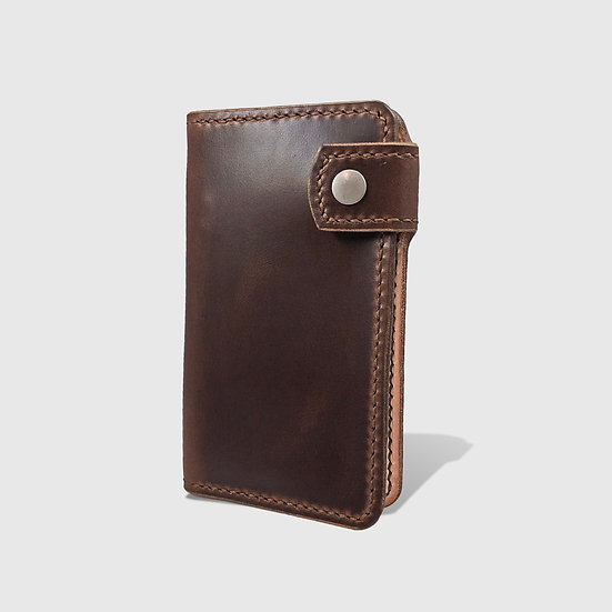 THE MID WALLET - Brown