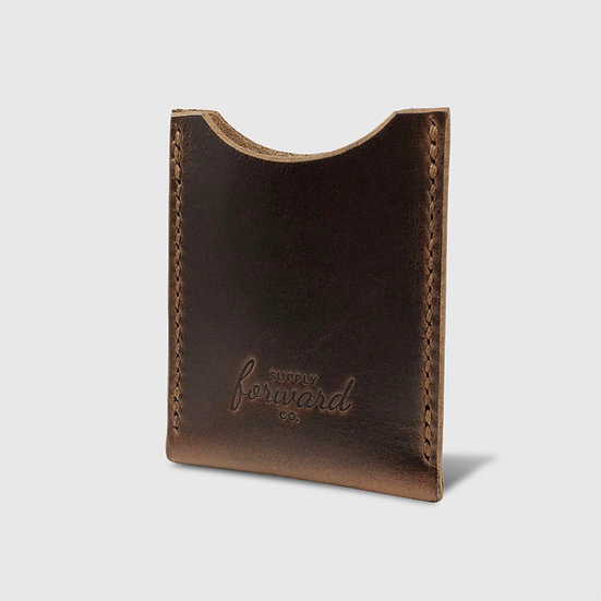 THE CARD HOLDER - Brown