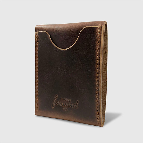 THE CARD WALLET - Brown