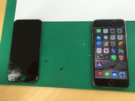 <修理事例> iPhone6Plus 液晶交換