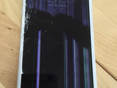 <修理事例> iPhone6 液晶漏れ 画面が勝手に動く(動画あり)