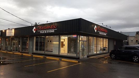 Abbosford BC showroom entrance 33286 S Fraser Way, Abbotsford, BC V2S 2B4