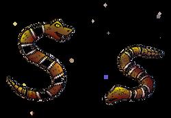 Animal Alphabet S