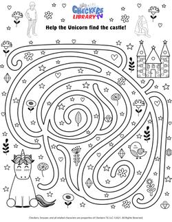 mythical unicorn maze