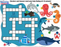 Ocean crossword