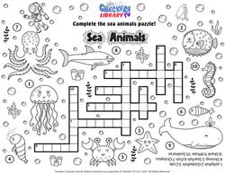 ocean animals puzzle
