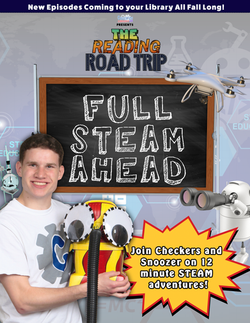 Reading Road Trip Full steam ahead poster 2 copy