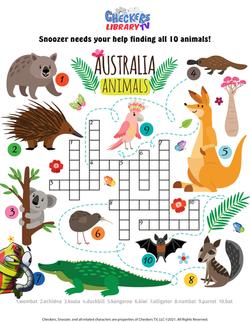 Australia crossword