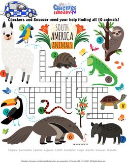 tropical crossword