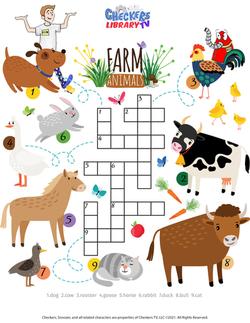 Farm crossword