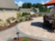 Techo Bloc patio and landscape by TC Design & Supply