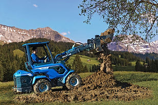8 Series Multione Articulating Loader