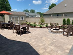 Techo Bloc paver patio by TC Design & Supply