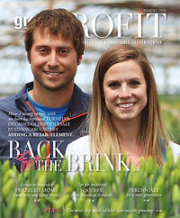 The Tulip Company garden center featured in Green Profit Magazine