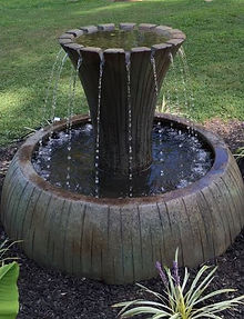 Henri fountain at The Tulip Company garden center