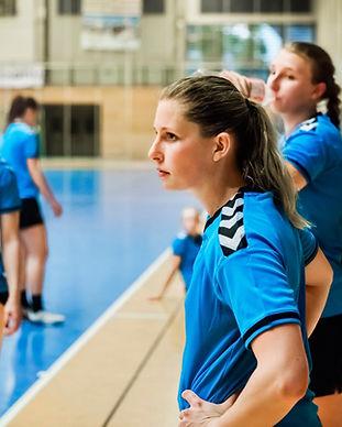 Weibliches Handball-Team