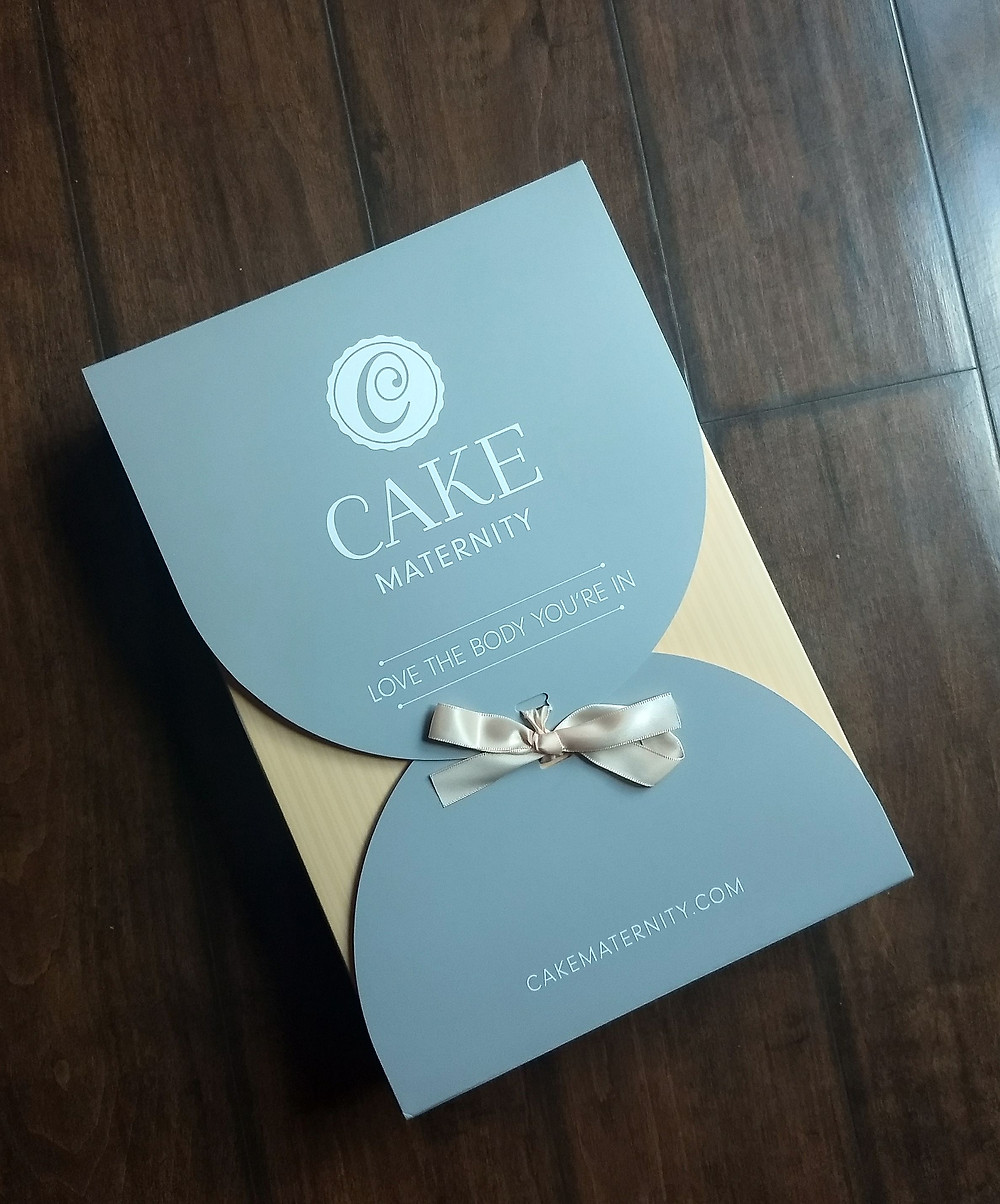 Cake Maternity has GORGEOUS packaging