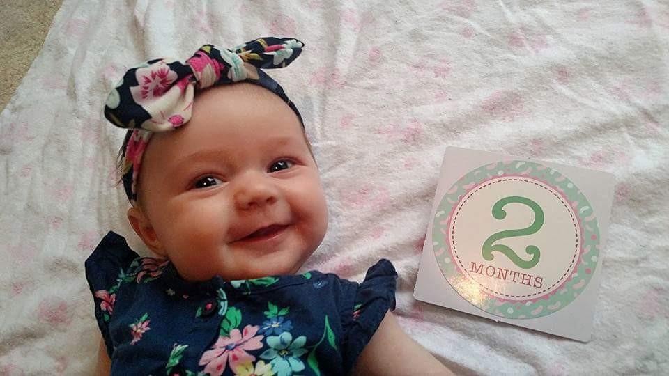 Olivia 2 Months