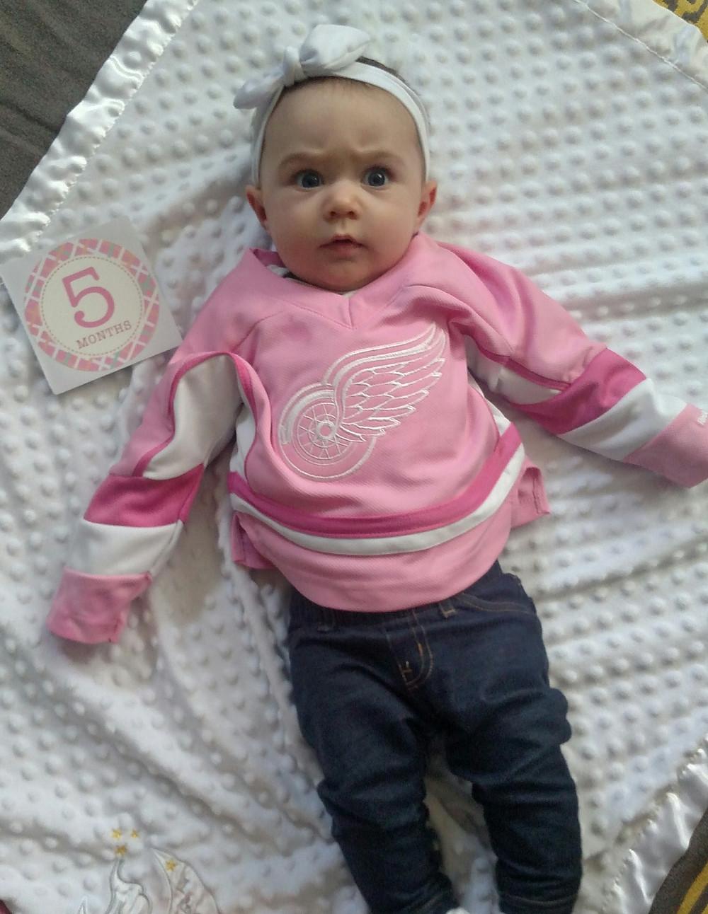Olivia 5 Month