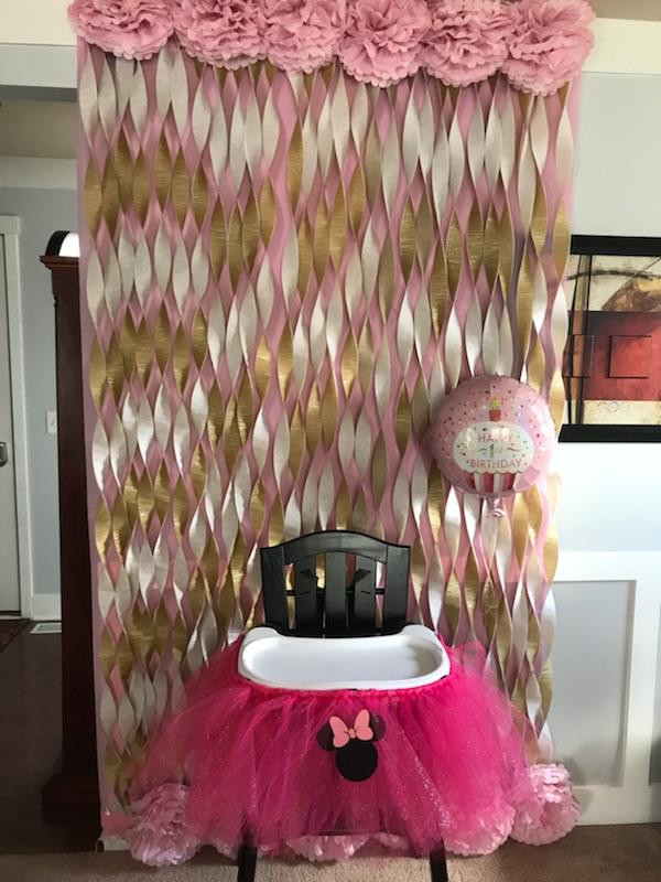 Olivia's highchair