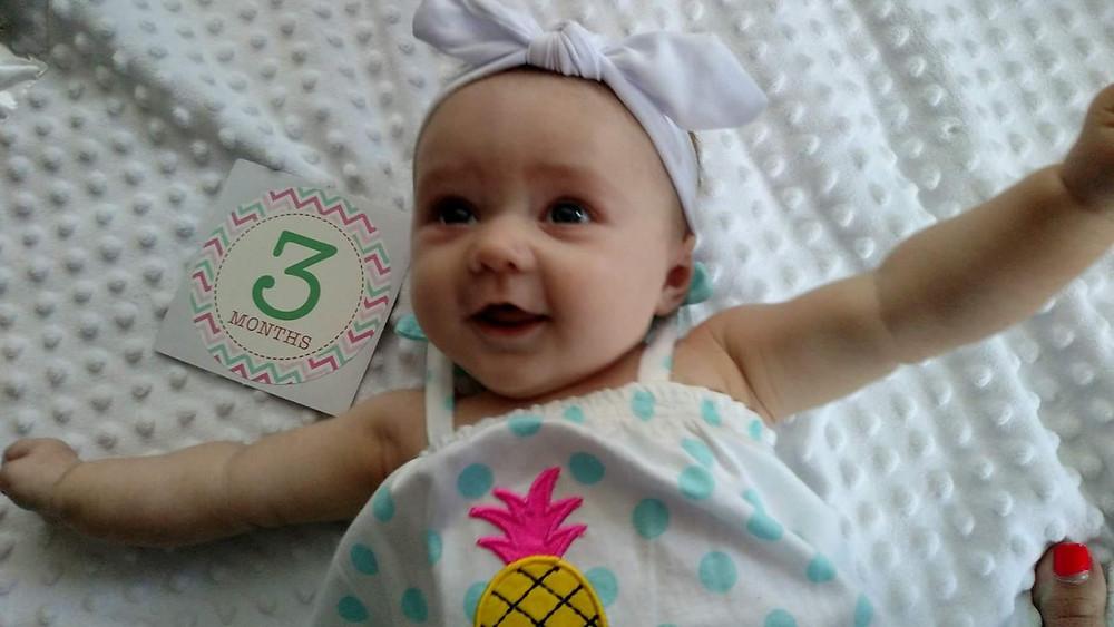 Olivia 3 Months