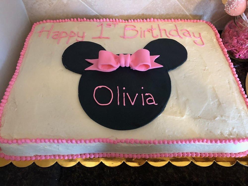 Olivia's cake!