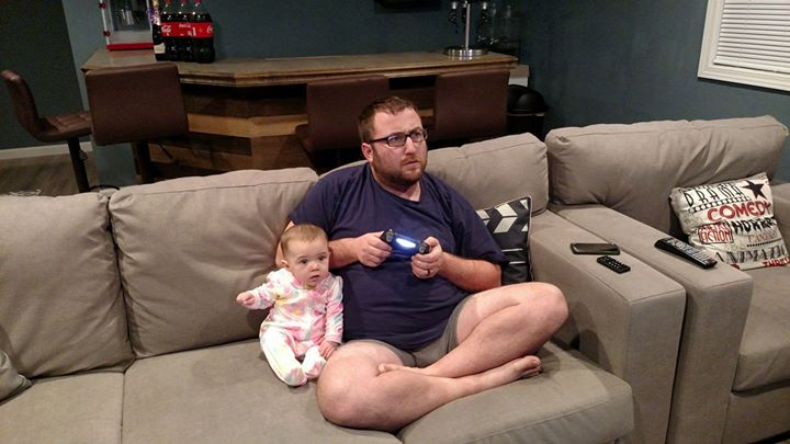 Daddy daughter video games
