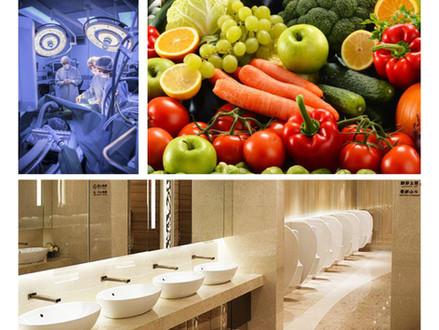 Equipos de purificación y limpieza de ambientes y superficies