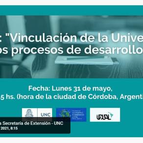 Vinculación UDCI asiste al panel internacional