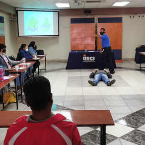 Personal de UDCI recibe curso de protección civil