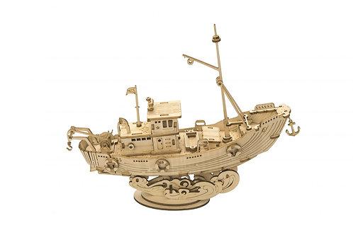 Konstruktorius Žvejybos laivas - dovana vyrui