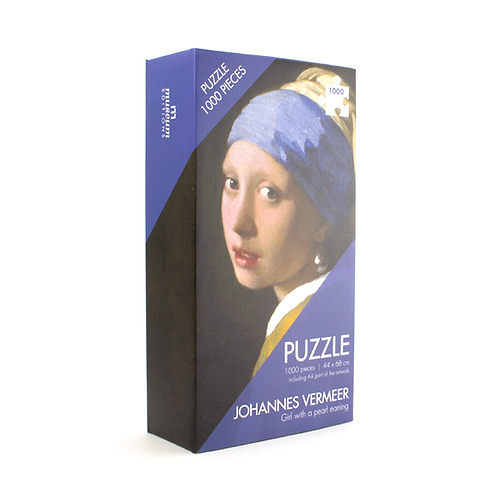 Puzlė 1000 dalių Vermeer, Girl with the Pearl