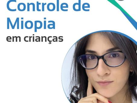 Controle de miopia em crianças