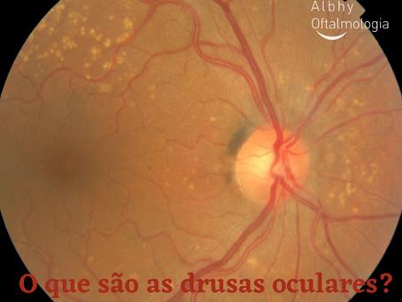 O que são as drusas oculares?