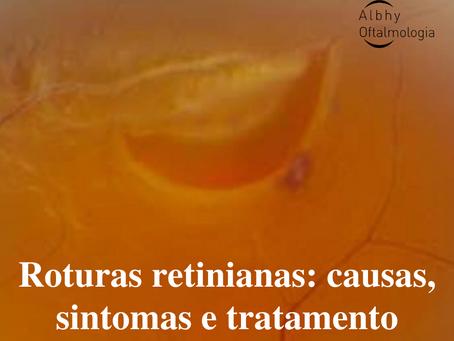 Roturas retiniana U