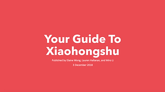 xiaohongshu, red guidebook