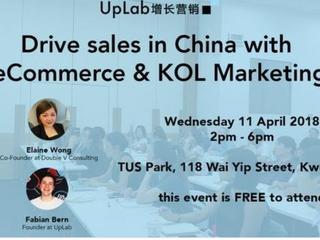 Drive Sales in China with eCommerce and KOL marketing Hong Kong