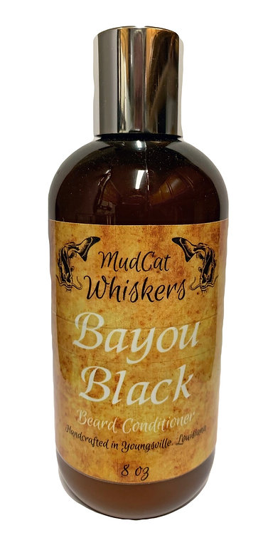 Bayou Black 8 oz Organic Beard Conditioner