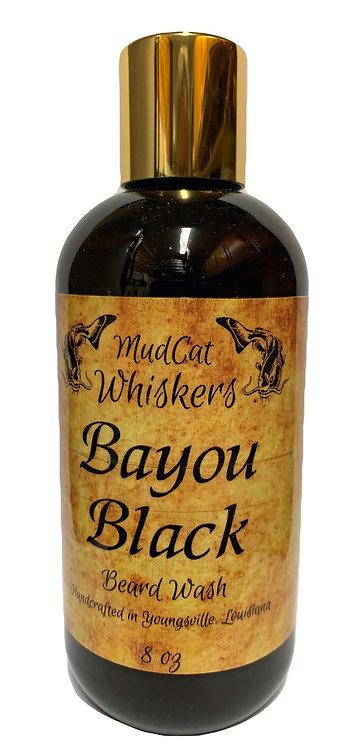 Bayou Black 8 oz Organic Beard Wash