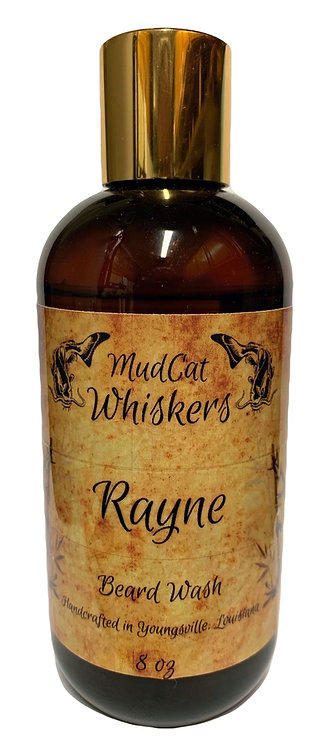 Rayne 8 oz Organic Beard Wash